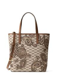 amazon black friday luggage amazon com michael michael kors emry medium heritage paisley tote