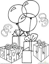 birthday coloring pages happy birthday cat birthday coloring pages