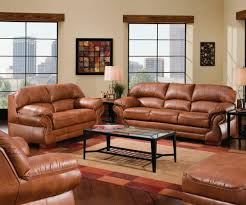 Brown Leather Living Room Decor Rustic Leather Furniture Ideas Decorate Large Rustic Leather