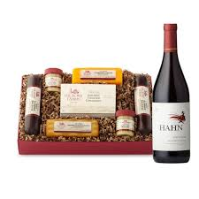 wine and cheese baskets wine gift baskets wine gifts with food hickory farms