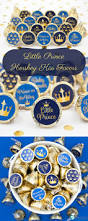 blue and gold little prince baby shower stickers set of 324