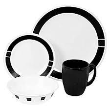 corelle deals on black friday amazon com corelle livingware 16 piece dinnerware set urban
