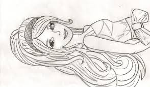 coloring pages photo barbie picture coloring pages images