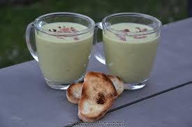 courgette boursin cuisine soupe glacée de courgettes au boursin maëvab recette cuisine
