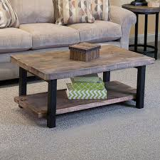 distressed wood end table metal and wood end tables new connell 42 coffee table reviews joss