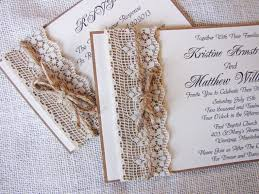 Lace Wedding Invitations Inspiring Collection Of Rustic Lace Wedding Invitations Which