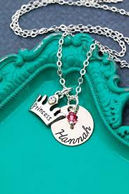 girls personalized necklace images Personalized princess crown jewelry dii aaa little jpg
