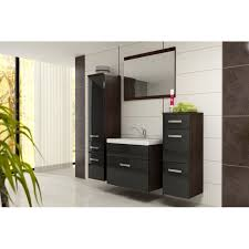 Bathroom Furniture Set Furniture Evo Bathroom Set Wenge Matte Black Gloss