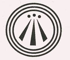 awen the symbol used by druids bards and ovates the symbol