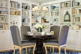 bookshelves in dining room dining room bookcase transitional dining room martha o hara