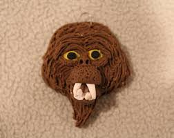 bigfoot ornament etsy