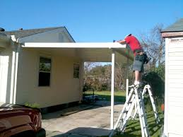 exterior remodelling of front cover porch design with white
