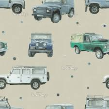 land rover drawing land rover fabric woven monkey
