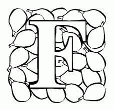 free printable letter f coloring pages kids coloring