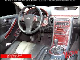 2004 Infiniti G35 Coupe Interior Dash Kits Real Wood Grain U0026 Carbon Fiber Camouflage U0026 Aluminum