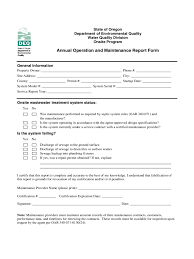 Power Of Attorney Form Oregon by Maintenance Report Form 2 Free Templates In Pdf Word Excel