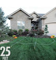 Halloween Outdoor Decorations Party City by Halloween Spiders Giant Spiders Spider Webs U0026 Spider