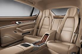 porsche carrera back seat 2014 porsche panamera facelift with new twin turbo v6 and hybrid