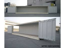 open sided storage and shipping containers for sale u0026 rent