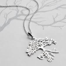 silver bonsai tree necklace by martha jackson sterling silver
