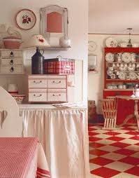 Cottage Style Kitchen Accessories - new takes on old glory kitchens red kitchen and cottage kitchens