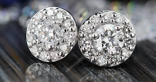 cheap stud earrings how to buy the pair of diamond stud earrings overstock