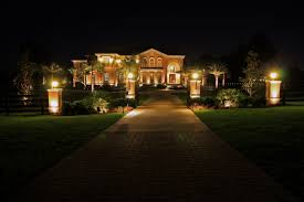 beautiful photo ideas commercial landscape lighting for hall