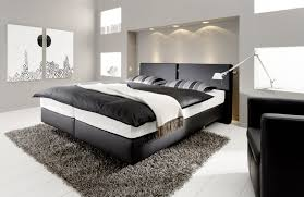 schlafzimmer boxspringbett haus renovierung mit modernem innenarchitektur schönes
