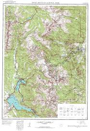 Colorado National Parks Map by The Rocky Mountain System