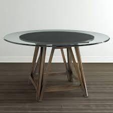 54 round table pad buy tuscan estates 54 round dining table by hekman from www 54 round