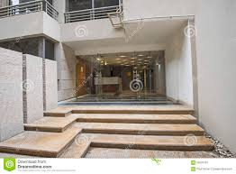 entrance to a luxury apartment building stock image image of floor