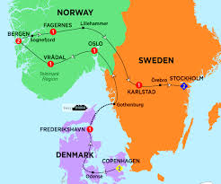 Scandinavia Map Highlights Of Scandinavia Phil Hoffmann Travel