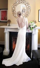 Modern Vintage Inspired Wedding Dresses Lb Studio By Cocomelody Backless Wedding Dress 1930 1920 Art Deco Vintage Inspired