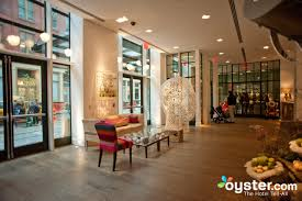 lobby at the crosby street hotel oyster com hotel reviews