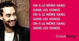Le Meme Sang - mãªme sang paroles â taã ro â greatsong