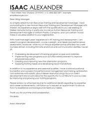 business program manager cover letter