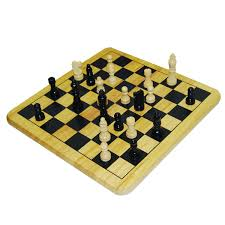 Diy Chess Set by Amazon Com Wood Chess Set Toys U0026 Games