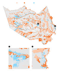 Banning State Park Map by How Houston U0027s Growth Created The Perfect Flood Conditions The