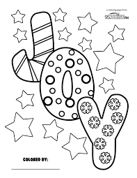 new years coloring pages in joy for page glum me