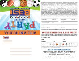 best arizona youth sports kids sports party indoor sports party