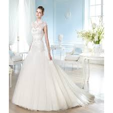 wedding dress sleeve lace and tulle sleeve high collar mermaid wedding dress