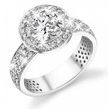 wedding diamond sterling silver wedding ring set engagement rings for
