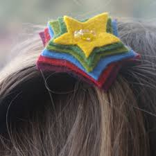 felt hair accessories beneath the rowan tree simple felt hair accessories make your