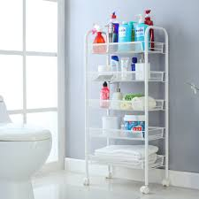 Bathroom Storage Shelf Online Get Cheap Bathroom Storage Cart Aliexpress Com Alibaba Group