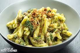 cuisine sicilienne recette de pâtes aux sardines pasta con le sarde cuisine sicilienne