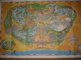 Disney Maps Old Disneyland Maps Theme Park Review