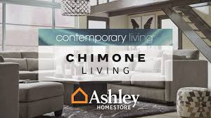 ashley homestore chimone living youtube