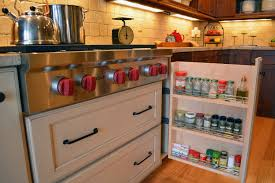 kitchen sliding spice rack spice rack drawer slides dish