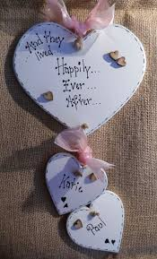 personalized wedding plaque wedding engagement plaque pink more ribbon colours personalised