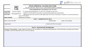 Da Form 4856 Initial Counseling Fillable Da Form 4856 Free Create Edit Fill And Print